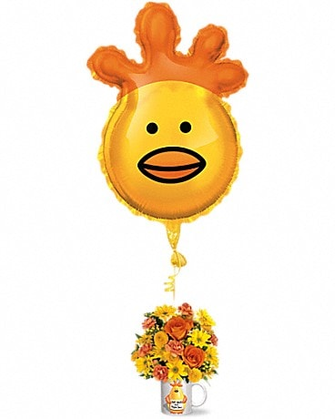 Teleflora's Dr. Chicken Bouquet Flower Arrangement