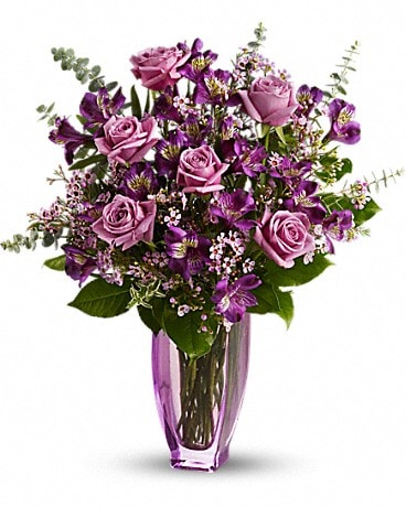 Teleflora's Dreaming of Roses Bouquet