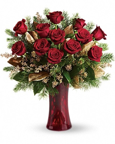 A Christmas Dozen Bouquet
