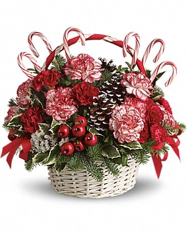 candy cane christmas bouquet - Christmas Candy Bouquet