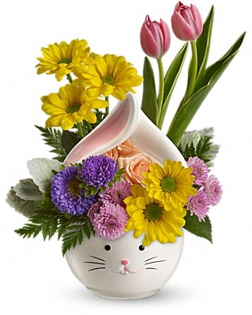 Teleflora's Easter Bunny Bouquet Flower Arrangement