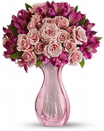 Teleflora's Pink Fire Bouquet Bouquet