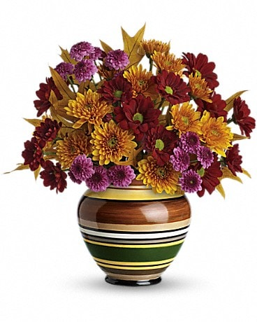 Teleflora's Rings of Autumn Bouquet