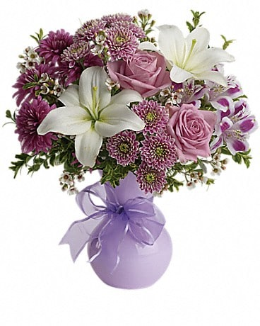 Teleflora's Precious in Purple Bouquet