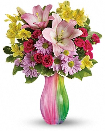 Teleflora's Shades of Spring Bouquet