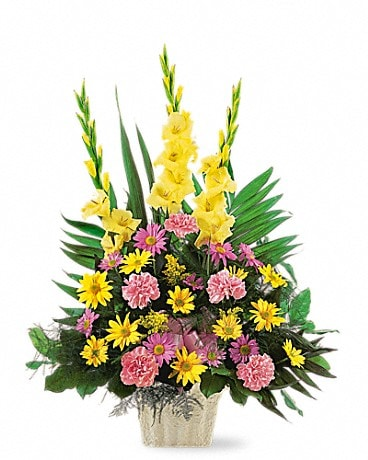 Warm Thoughts Arrangement Flower Arrangement
