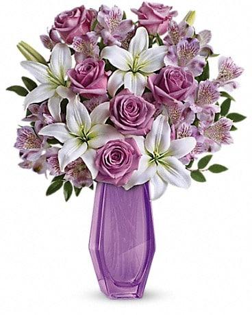 Teleflora's Lavender Beauty Bouquet Bouquet