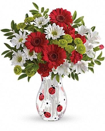 Teleflora's Lovely Ladybug Bouquet Bouquet