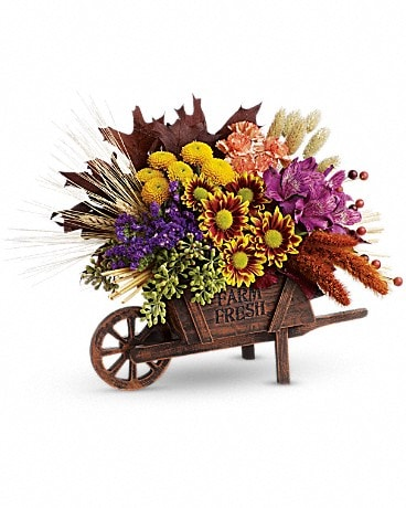 Teleflora's Antique Autumn Bouquet Flower Arrangement