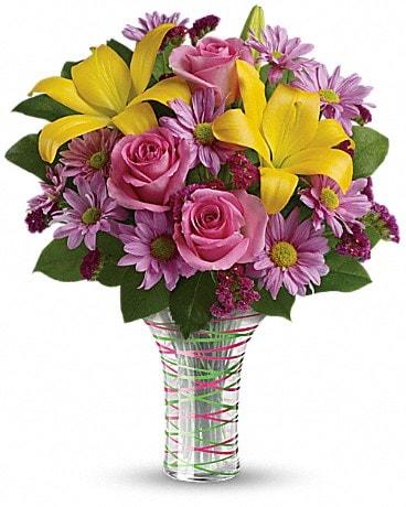 Teleflora's Spring Serenade Bouquet Bouquet