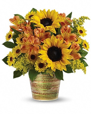 Teleflora's Grand Sunshine Bouquet Bouquet
