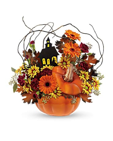 Teleflora's Haunted House Bouquet Bouquet