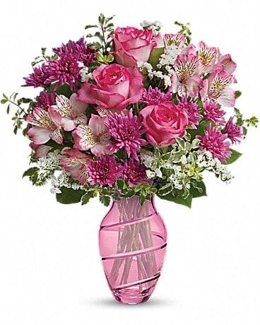 Teleflora's Pink Bliss Bouquet Bouquet