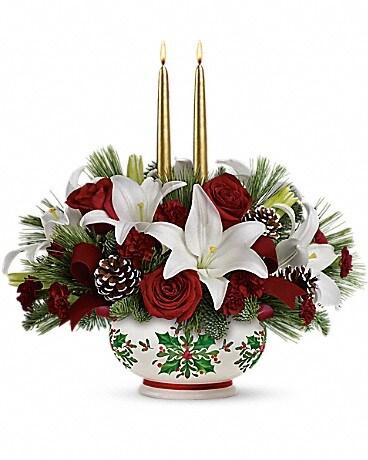 Teleflora's Season's Best Centerpiece Bouquet