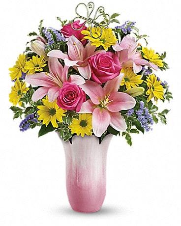 Teleflora's Pretty Petal Bouquet Bouquet
