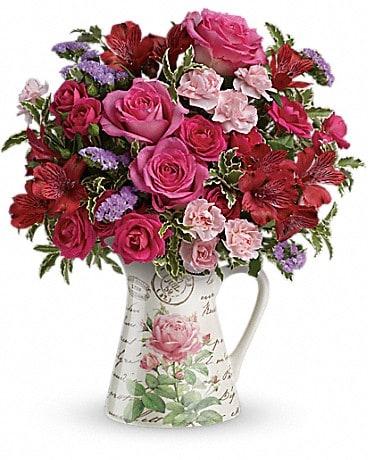 Teleflora's Simply Adored Bouquet Bouquet