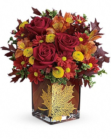 Teleflora's Maple Leaf Bouquet Bouquet
