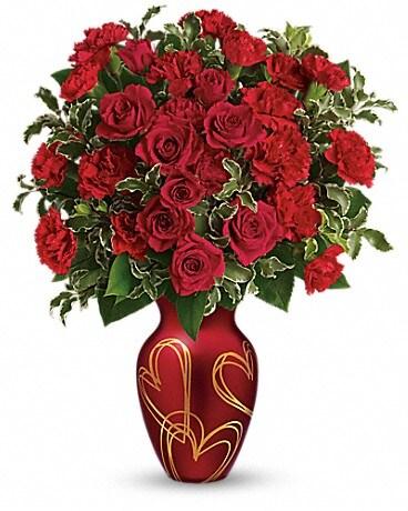 Teleflora's Hearts Of Gold Bouquet Bouquet