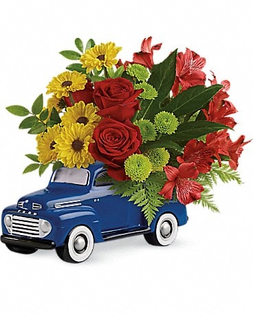 Glory Days Ford Pickup by Teleflora Bouquet