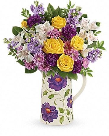Teleflora's Garden Blossom Bouquet Bouquet