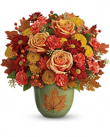 Teleflora's Heart Of Fall Bouquet