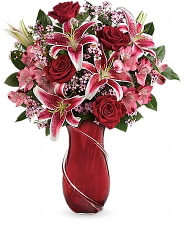 Teleflora's Wrapped With Passion Bouquet Bouquet