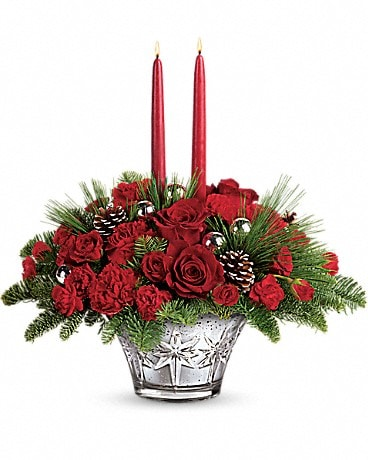 Teleflora's All That Glitters Centerpiece