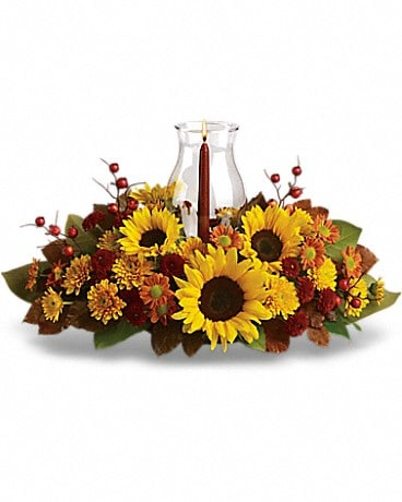 Sunflower Centerpiece Flower Arrangement