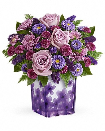 Teleflora's Happy Violets Bouquet
