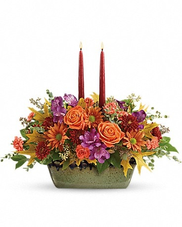 Teleflora's Country Sunrise Centerpiece Flower Arrangement