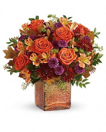 Teleflora S Golden Amber Bouquet In Waupaca Wi Firefly Fl