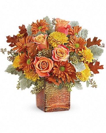 Teleflora's Grateful Golden Bouquet