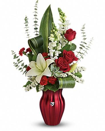 Teleflora's Hearts Aflutter Bouquet Bouquet