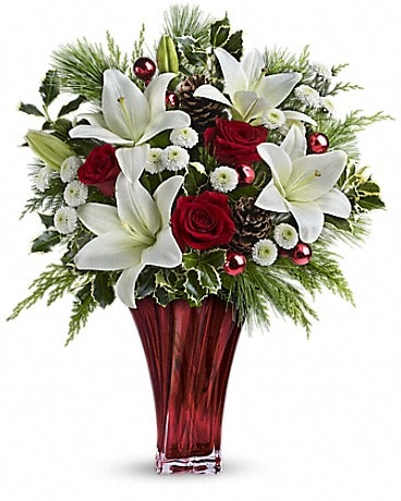 Teleflora's Wondrous Winter Bouquet Bouquet