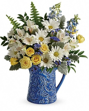 Teleflora's Bright Skies Bouquet Bouquet