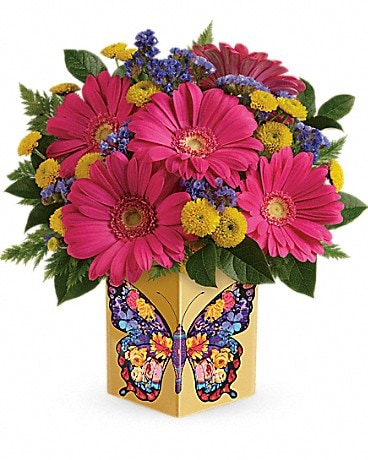 Teleflora's Wings Of Thanks Bouquet Bouquet