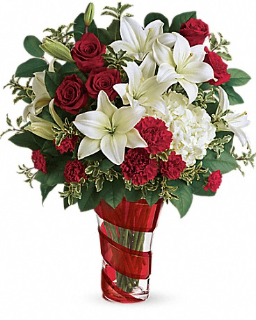 Teleflora's Work Of Heart Bouquet Bouquet