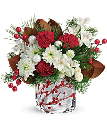 Teleflora's Wondrous Winterberry Bouquet Bouquet