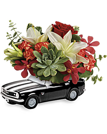 Teleflora's Chevy Camaro Blooming Bouquet  Bouquet