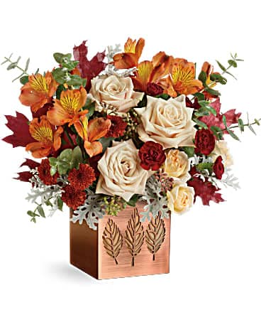 Teleflora's Shimmering Leaves Bouquet