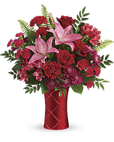 Teleflora's Satin Kisses Bouquet Bouquet