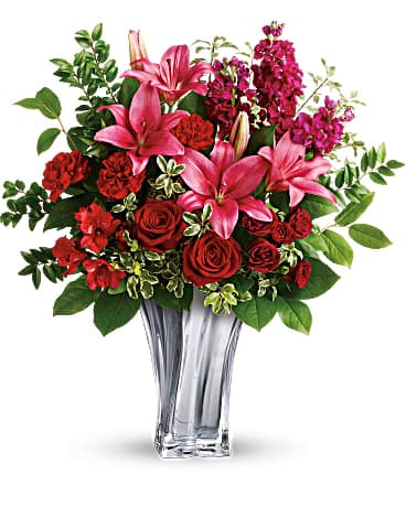 Teleflora's Sterling Love Bouquet Bouquet