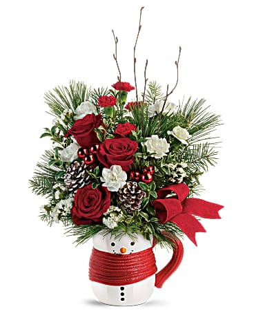 Send a Hug® Festive Friend Bouquet by Teleflora Bouquet