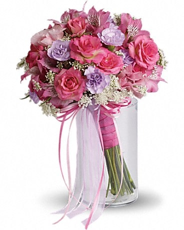 Fairy Rose Bouquet In Wyomissing Pa Acacia Flower Gift Shop Inc