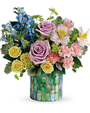 Teleflora's Stained Glass Blooms Bouquet Bouquet