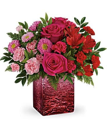 Teleflora's Breathtaking Ombre Bouquet