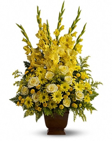 Teleflora's Sunny Memories Flower Arrangement