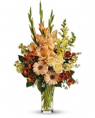Summers light bouquet in san antonio tx spring garden flower shop mightylinksfo