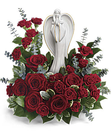 Forever Our Angel Bouquet By Teleflora In Princeton Nj Perna S Plant And Flower Shop Inc