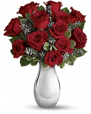 Teleflora's Winter Grace Bouquet Bouquet